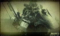 Fallout 3 power armor concept art
