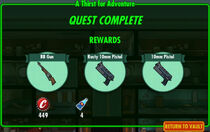 FoS A Thirst for Adventure rewards
