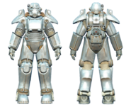 FO4CC T-45 power armor chrome