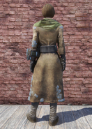 FO76 Leather Coat Back