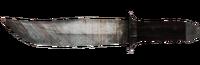 LR Bowie knife unused