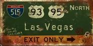 FNV I515 road sign