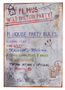 FO76WA Party poster