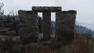 FO76 Mysterious guidestones western face