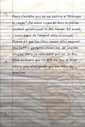 FO76 Page du journal de Chelsea