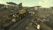 Fo3 Military Checkpoint outside Seneca