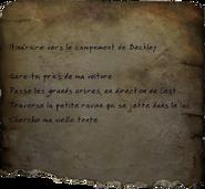 FO76 Instructions pour rejoindre le camp de Janelle