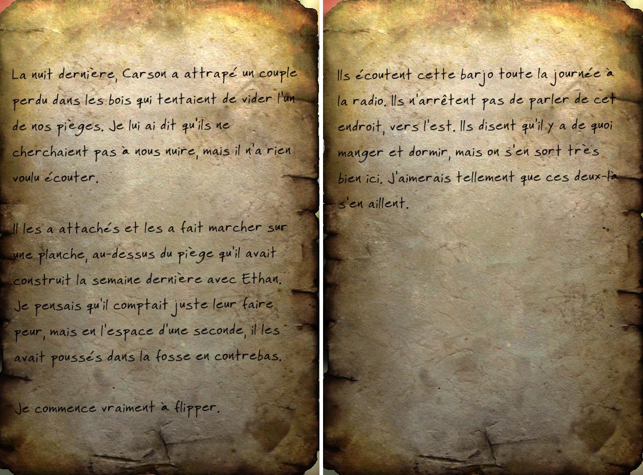 Journal de chasseur