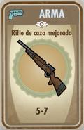 FOS Rifle de caza mejorado carta