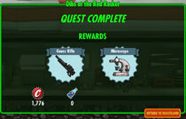FoS Dibs at the Red Rocket rewards