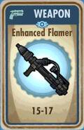 FoS Enhanced Flamer Card