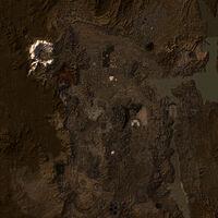 Mojave Wasteland map