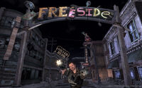 Prerelease Freeside entrance