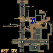 Carbon West side map