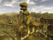 Dinky T-Rex Novac