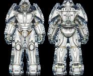 FO4CC X-02 power armor white