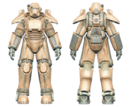 FO4CC T-45 power armor tan