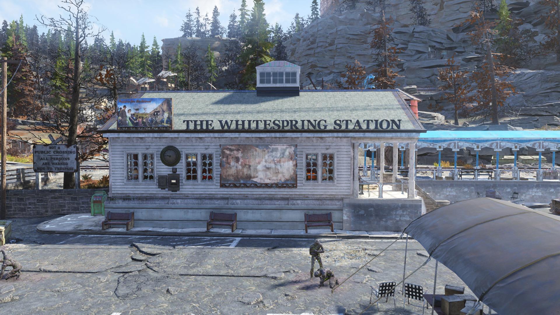 The Whitespring station
