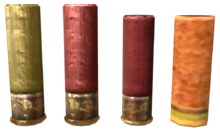 FNV 12 gauge shotgun shell vars