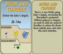 FoS Divide and Conquer card