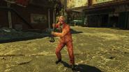 Jack O Lantern Suit Scorched
