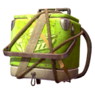 Atx skin backpack cooler lime l