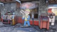 FO76 Atomic Shop access point - Charleston station