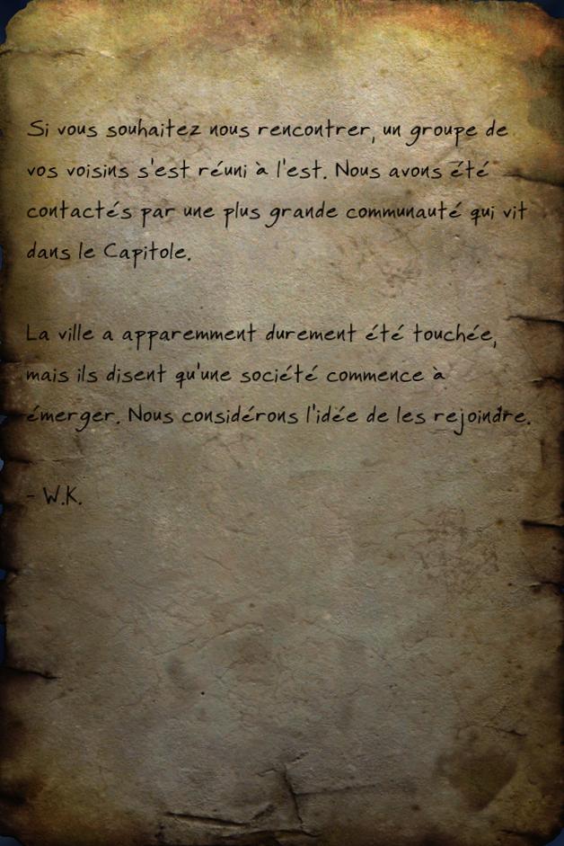 Message de goule 2