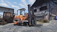 FO76 Fine looking forklift
