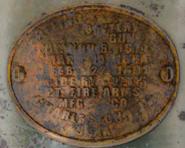 Gatling Battery Gun plate