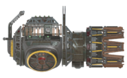 F76 Plasma gatling right