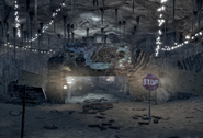 FO3 main entrance to Little Lamplight