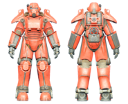 FO4CC T-45 power armor red