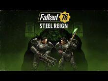 Fallout 76- Власть стали — анонсирующий видеоролик