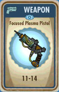 FoS Focused Plasma Pistol Card
