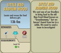 FoS Little Red Radium Hood card