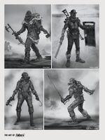 FO4 Art Raider Types