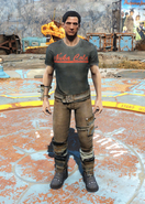 Armored Nuka-Cola outfit male