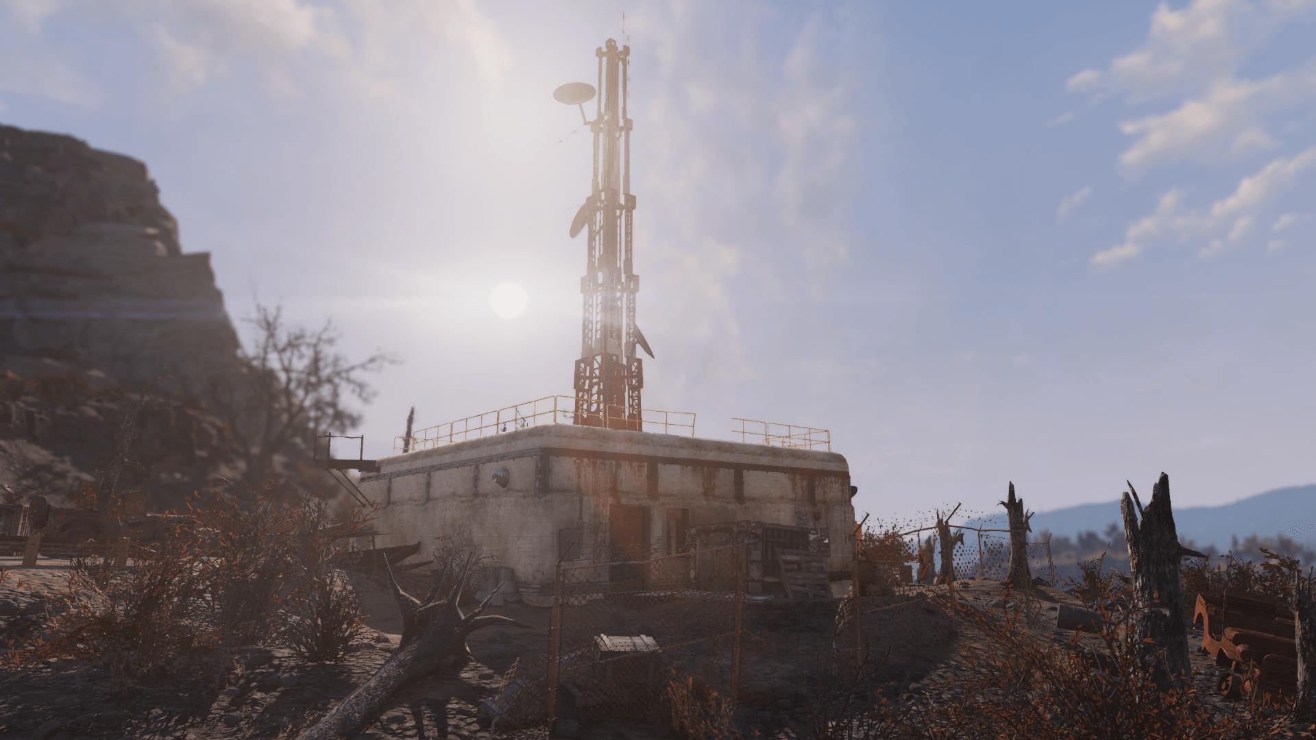 Relay tower HG-B7-09