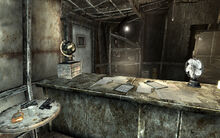 FO3 Megaton Craterside Supply Replicated Man holotapes