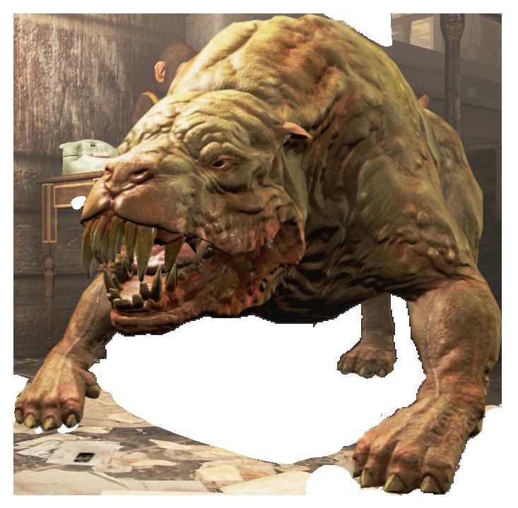 Mutant hound (Fallout 76)