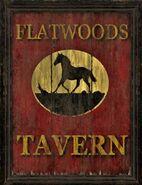 FO76 Flatwood Tavern sign