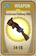 FoS Accelerated Railway Rifle Card