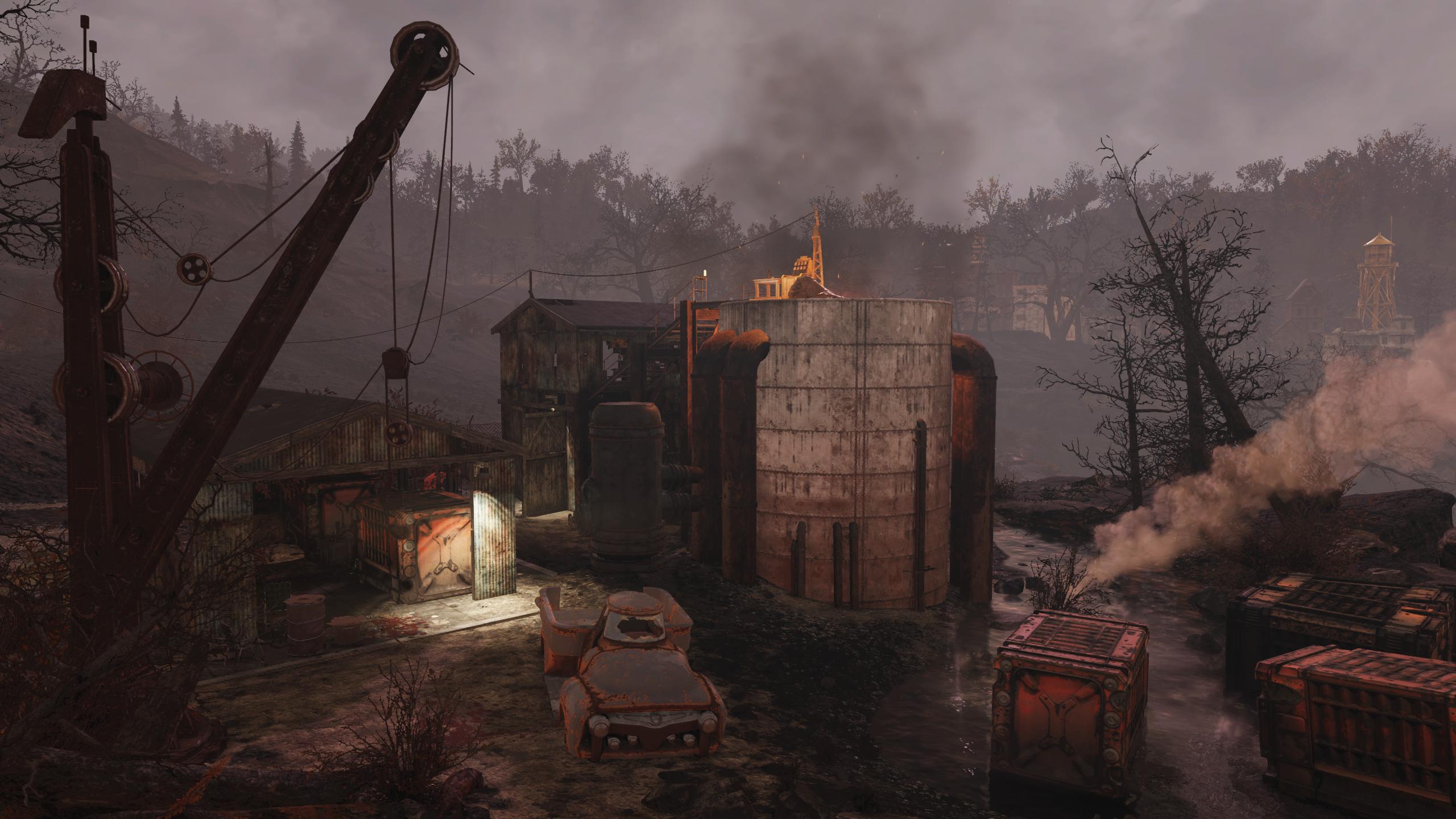 Abandoned mine shaft 4