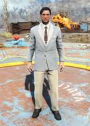 Fo4Clean Striped Suit male