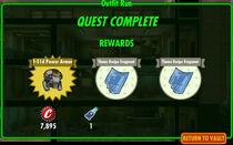 FoS Outfit Run rewards