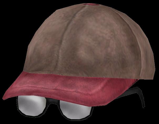 Детская шапочка с очками