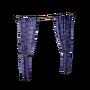 Atx camp walldeco curtain double halloween bluebats l.webp