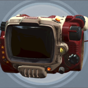 FO4 Creation Club - PipBoy Five-Star Red.png