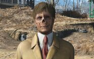 Fo4 Vault-Tec rep Ghoul without hat